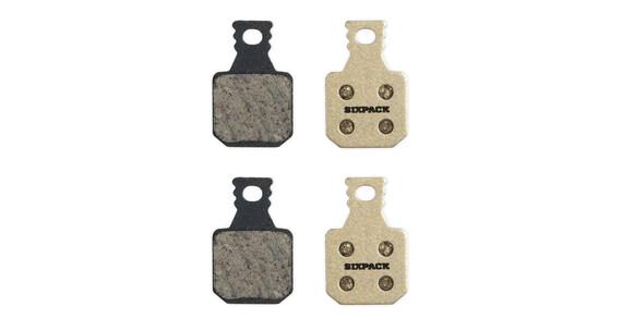 Sixpack Magura MT7 (4 pistones) - Pastillas de freno - beige
